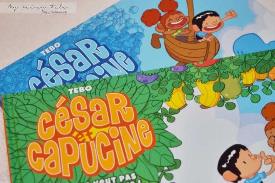 Les albums jeunesse César et Capucine