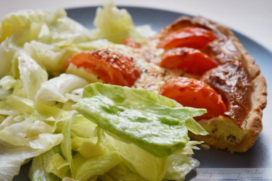 Ma recette gourmande de la tarte à la tomate