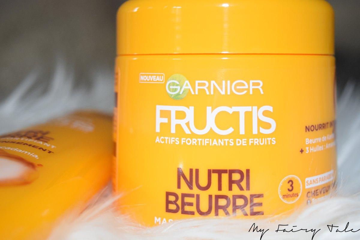 La gamme Nutri Beurre de Fructis
