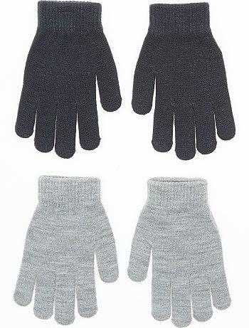 Lot de 2 paires de gants