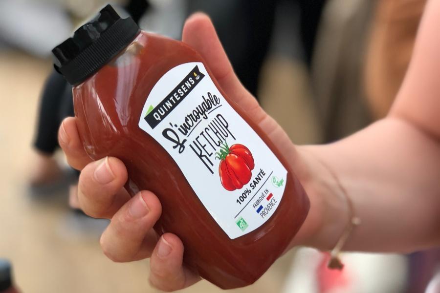 Incroyable Ketchup de la marque Bio Quintesens
