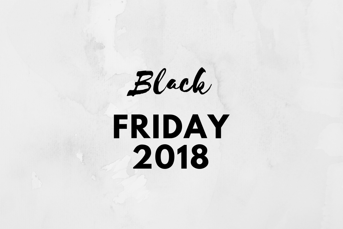 Black Friday 2018 – Codes promo