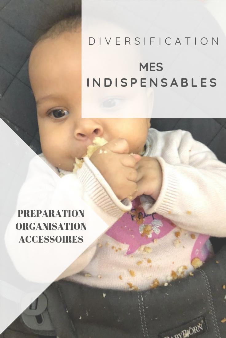 Mes indispensables pour débuter la diversification alimentaire avec bébé : de la préparation des repas à l'organisation, en passant par le confort de l'enfant