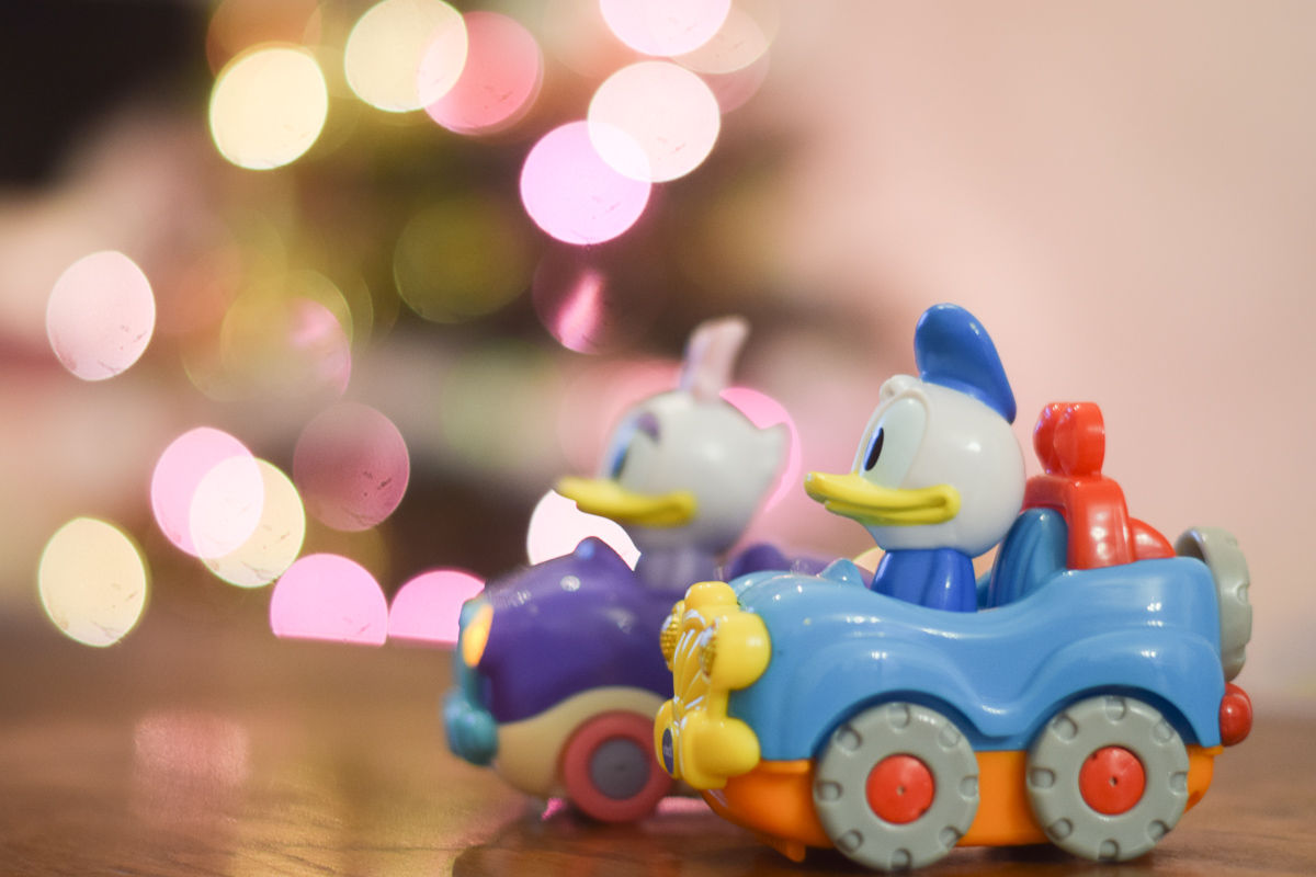 Donald et Daisy Tut Tut Bolides Disney de chez Vtech
